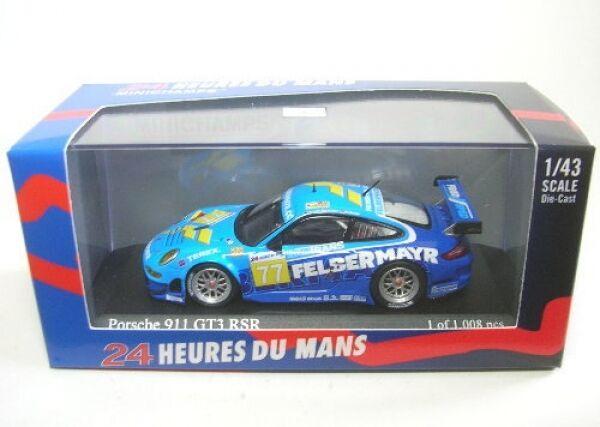 Porsche 911 GT3 Rsr No. 77 Lemans 2009