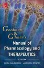 Goodman And Gilman Manual Of Pharmacology And Therapeutics 2/E by Randa Hilal-Dandan, Laurence Brunton (Paperback, 2013)