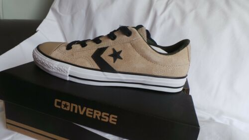 taglia 12 pelle Converse New 46 5 Ox Player formatori In Beige Box Eu Star in Brand aTqgww
