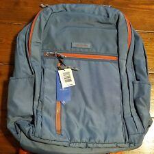 Vera Bradley Mineral Blue Lighten up Grand Backpack for sale online ... b0056d26682b4