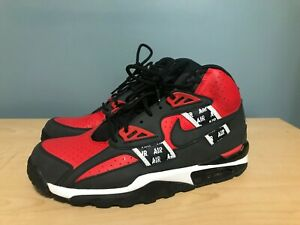 new arrivals 719d4 55de7 Nike Air Trainer SC High Bo Jackson SOA Size 9 Black Red ...