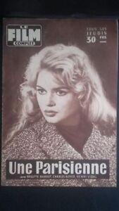 Rivista Brigitte Bardot Il Film Completo N° 670 1958 ABE