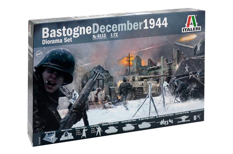 Italeri 1 72 Bastogne December 1944 Diorama Set
