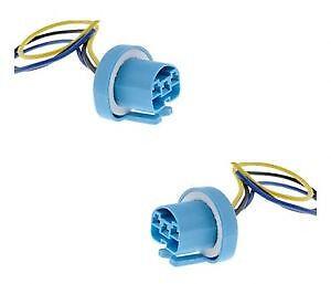 9004 9007 NEW Headlight Bulb Harness Repair Plug Pigtail Sockets SET 2 USA SHIPS