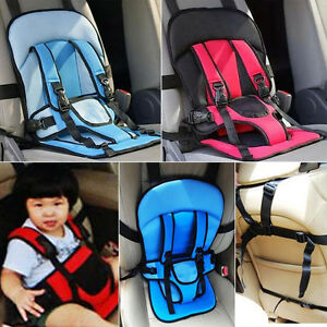 Safety Infant Child Baby Car Seat Seats Carrier Portable Adjustable Blue/Red MI