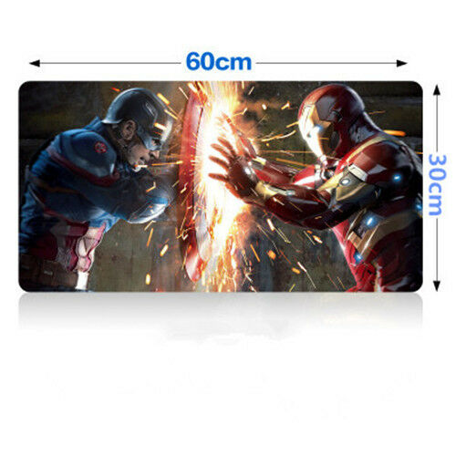 Movie The Avengers Superhero MousePad Large Gaming Mouse Pad Mat 30*60cm