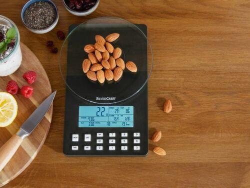Bilancia da Cucina Per Valore Nutrizionale Analisi M.Funzione di Memoria