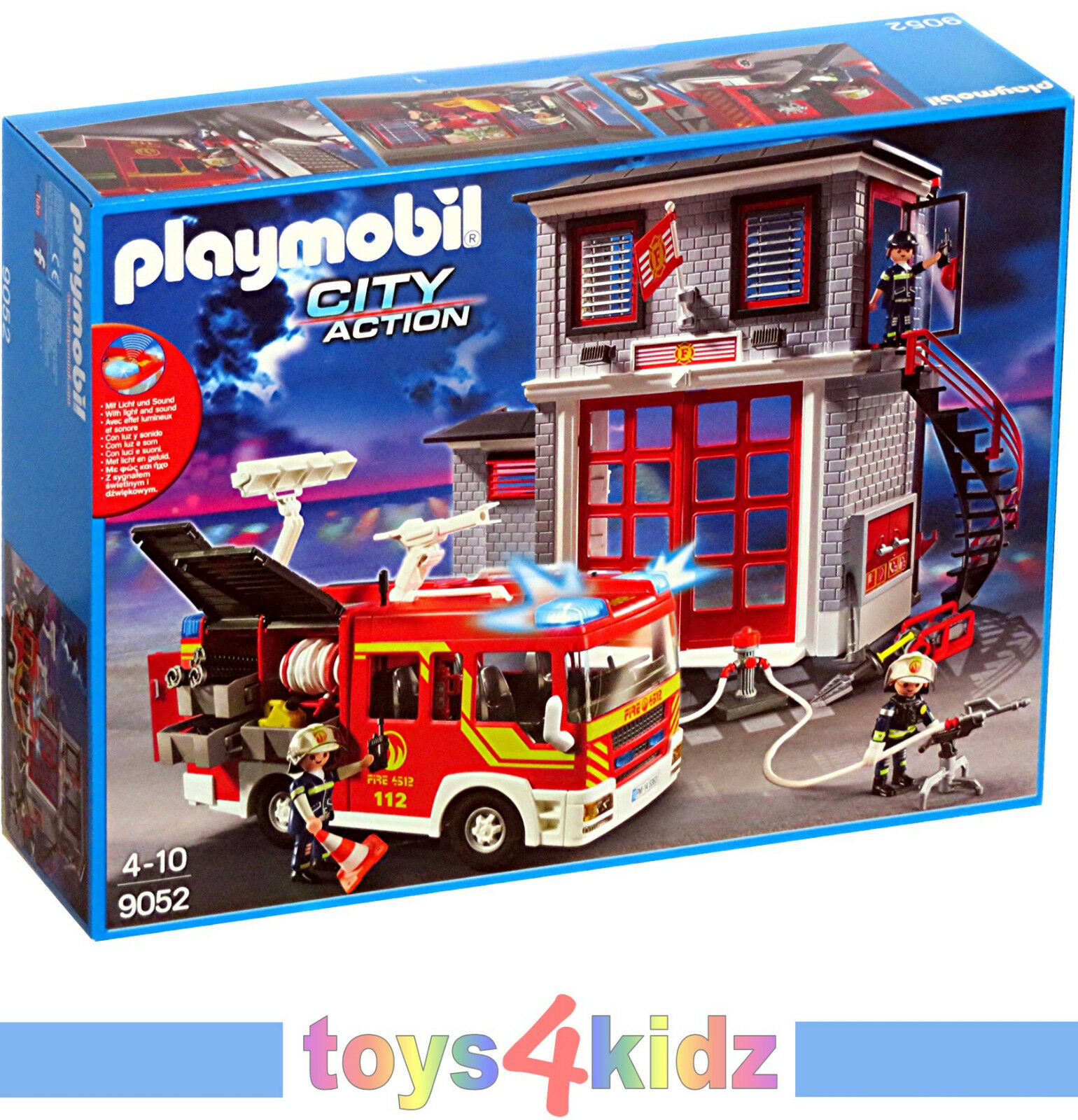 PLAYMOBIL®  CITY CITY CITY ACTION  Feuerwehr 9462 - 9468 3128 - 9052   NEU   OVP  e54211