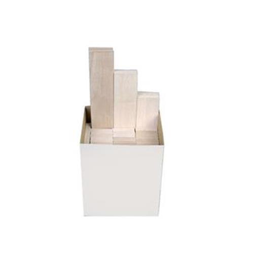 Graupner Legno Balsa Kartonware2,5 Mm 300St. 2 504.C.KSB.2,5