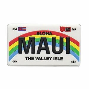 Islander Hawaii Magnet Rubber Maui License Plate 3 5 Quot W X