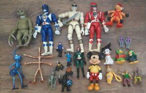 80s-90s-Vintage-Juguetes-Lote-de-Trabajo-figura-De-Accion-Paquete-1980-1990-cifras-MMPR