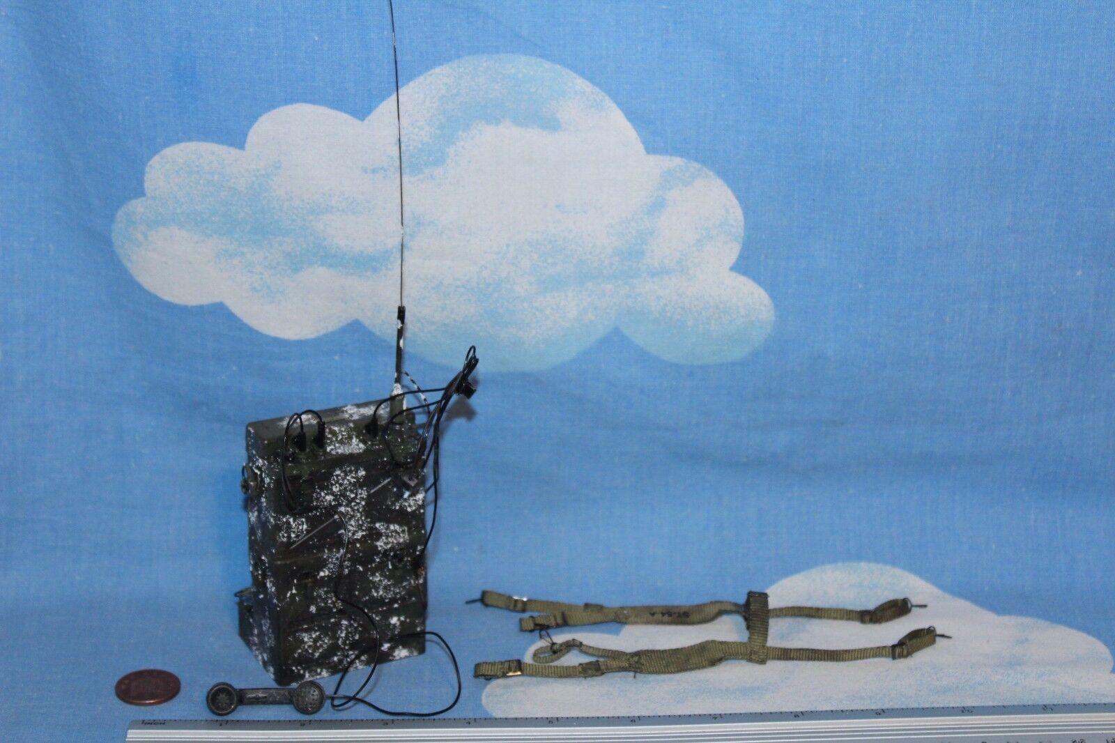 DID 1 6TH SCALE WW2  U.S. ARMY RADIO OPERATOR S EDITION SCR-300 RADIO PAUL  magasin d'usine