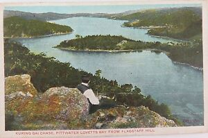 1906-GD-amp-DL-SERIES-COLOUR-POSTCARD-KURINGAI-CHASE-FROM-FLAGSTAFF-HILL