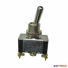 Electrical Toggle Switch Spdt On On 20 A125v Ac Screw Terminal Heavy Duty Usa