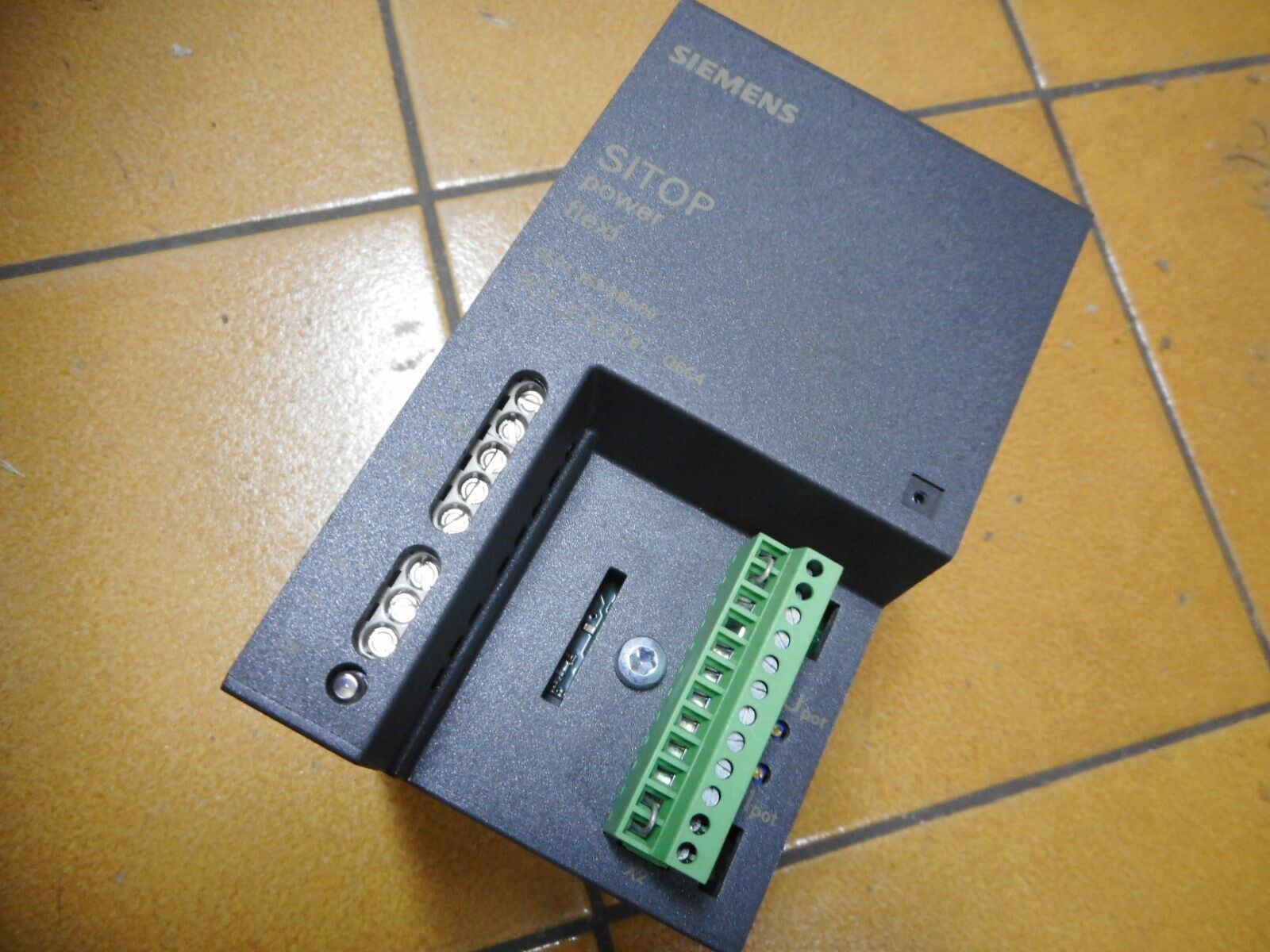 SIEMENS SITOP FLEXI - STABILISED POWER SUPPLY -- 3...50DC OUTPUT - 6EP1353-2BA00