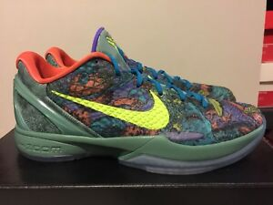 the latest c1696 b54c0 Image is loading Nike-Zoom-KOBE-VI-6-PRELUDE-CANNON-GREEN-