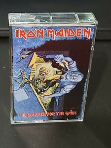 Iron Maiden Cassette Tape No Prayer For The Dying EMI Canada b39