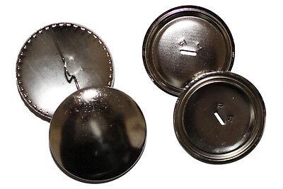 Leal Überziehbare Botones, 38mm - 10 Unid., Knopfrohlinge De Metal