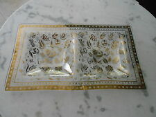 Vintage Mid-Century,Georges Briard Retro Double Well Serving Dish