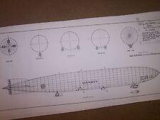 airship shenandoah  ship model plan