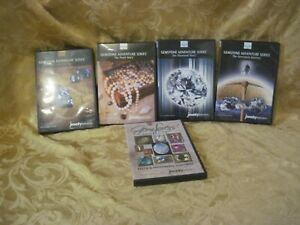 Jewelry-TV-Gemstone-Adventures-Series-Volume-1-4-Plus-Gem-Lovers-Vol-2-Lot-5-DVD