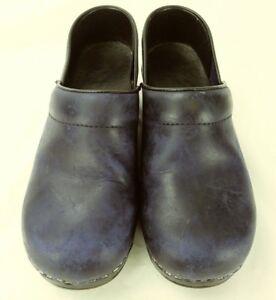 5ae00c579e DANSKO Womens Shoes Wedge EU 36 US 5.5 6 Purple Leather Nurse Work ...