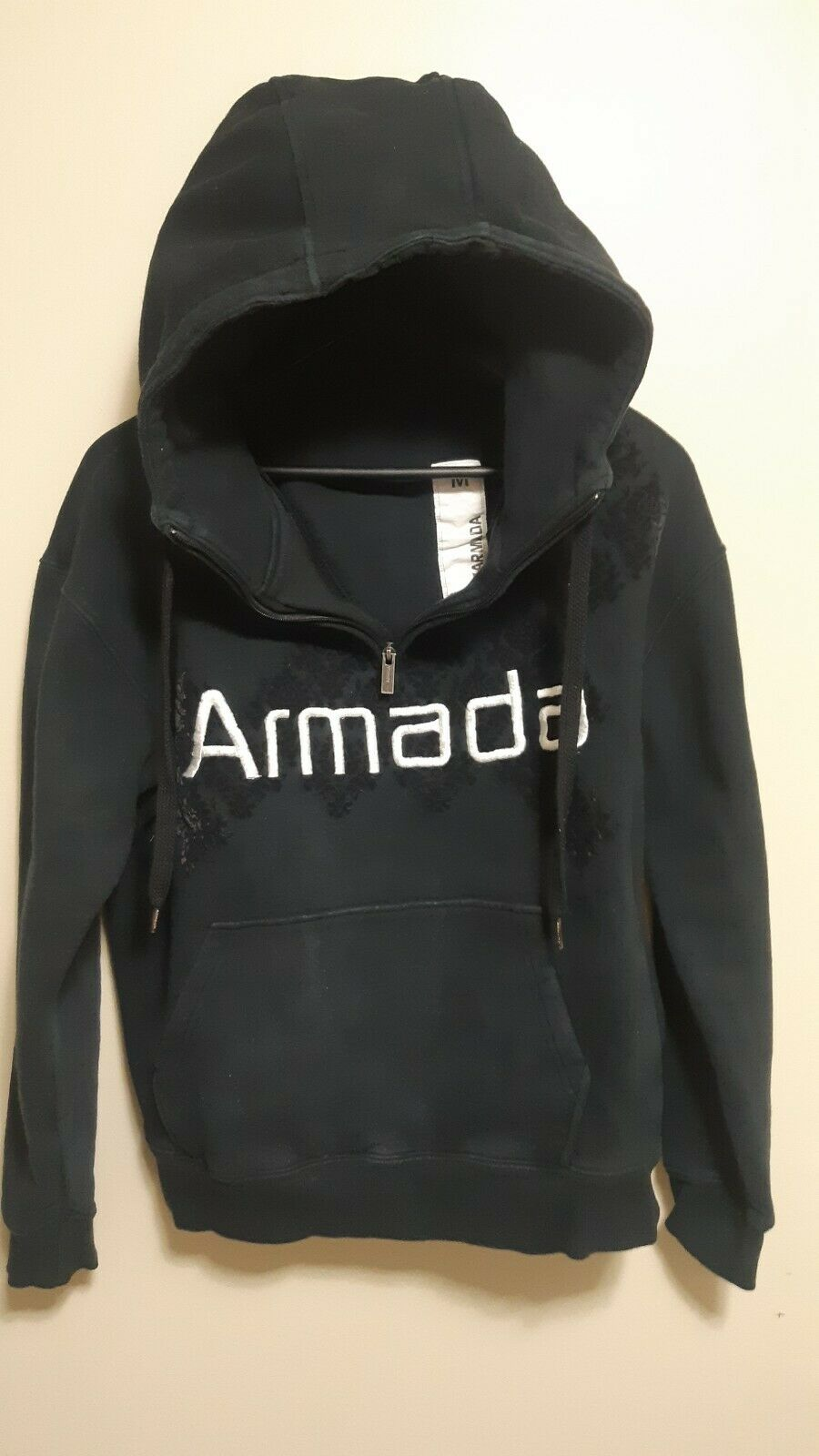 Armada Armada Armada Ski Hoodie Sweater 1 4 Zip Womans Medium Embroidered Letter Way d2bd44