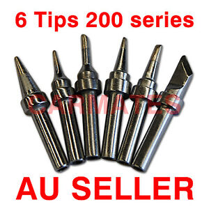 3PCS 200-2C For ATTEN QUICK H akko High-Frequency Soldering Station Iron Tips