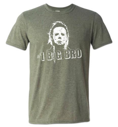 Michael Myers Halloween Shirt Number 1 Big Brother Funny Retro Horror #1 Bro