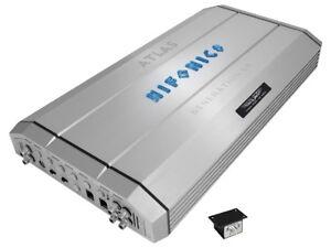 Hifonics-Atlas-X4-1750-RMS-Monoblock-Verstaerker-Auto-Endstufe-Amplifier-silber