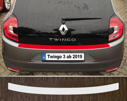 Protector de parachoques charol lámina de protección transparente Renault Twingo a partir de 2019