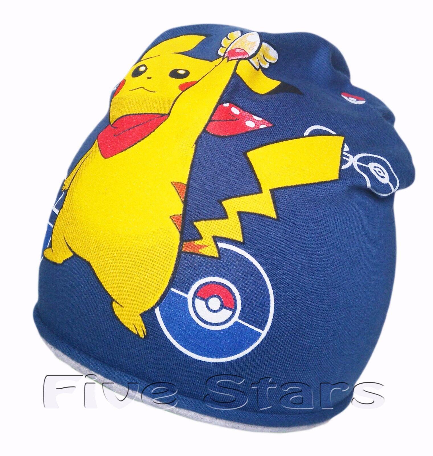baby kind jungen mädchen pokemon mütze frühling baumwolle doppelseitiger pikachu