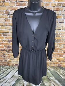 b034864e40 Image is loading NWT-Women-s-Forever-21-Black-Cinch-Waist-