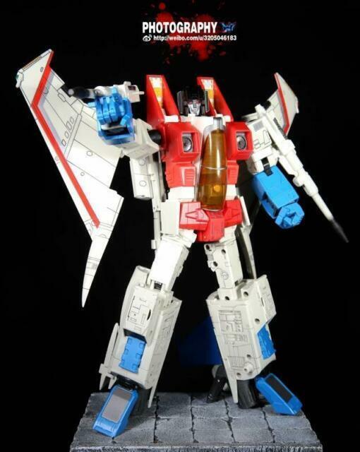 Transformers Robot Hero CG01 Zoom MP11 RH rojo Araña MP03 Color que empareja