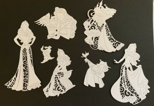 Selection Of Disney Themed Sleeping Beauty Die Cuts