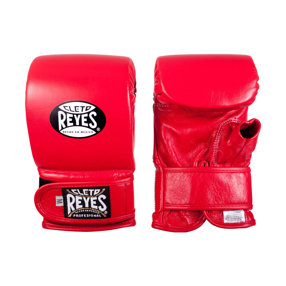 Cleto Reyes Hook and Loop Leather Boxing Bag G  s - Red  cheap and fashion