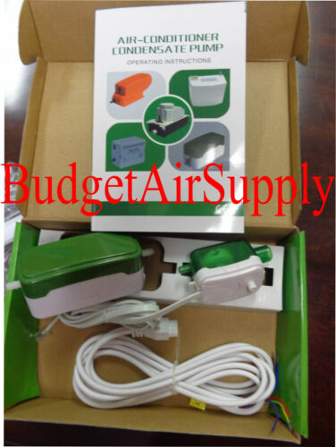 Mini Split GREEN Condensate Pump Ductless and MiniSplit Systems 208//230v