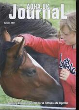 AQHA-UK JOURNAL MAGAZINE - Autumn 2007