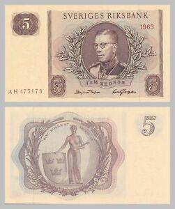 Schweden-Sweden-5-Kronor-1963-p50b-unc