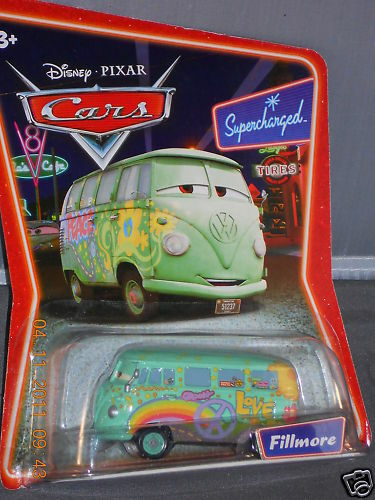 Disney Pixar Cars Supercharged FILLMORE Diecast
