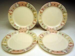 Corelle Mirage Beige Pattern 4 Salad Plates 7 Wide Discontinued 1990 S Ebay