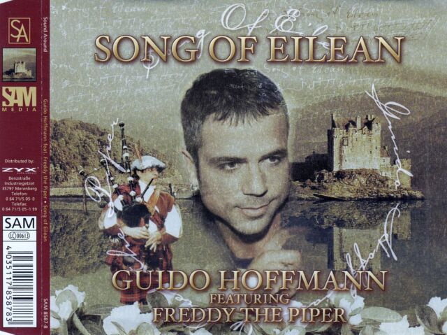 GUIDO HOFFMANN FEAT. FREDDY THE PIPER : SONG OF EILEAN / 4 TRACK-CD