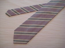 KOLTE Couture Italy Purple/Brown/Blue/Ivory 100% Silk Neck Tie from Syd Jerome