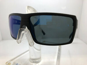 c8f4d79586c8 NEW VON ZIPPER SUNGLASSES SNARK PLC SATIN BLACK BLUE FLASH POLARIZED ...