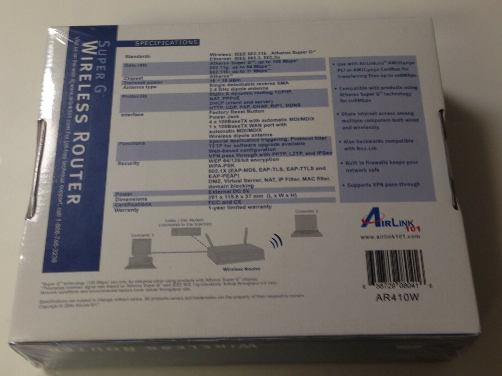 AIRLINK101 AR410W WINDOWS 8 X64 DRIVER DOWNLOAD