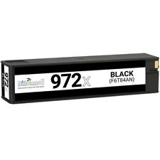 4 Black 972A Remanufactured Ink Cartridge Replacement for HP PageWide Pro 452dn 452dw 552dw 477dn 477dw 577dw MFP P57750DW MFP P55250DW Printer,Sold by TopInk