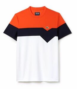 b18495baa005 Image is loading New-LACOSTE-Men-039-s-Tennis-Short-Sleeve-