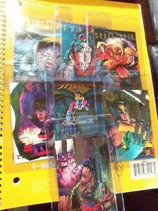 1995-Fleer-Ultra-X-Men-Hunters-and-Stalkers-7-OUT-OF-9-FOR-SET-RAINBOW