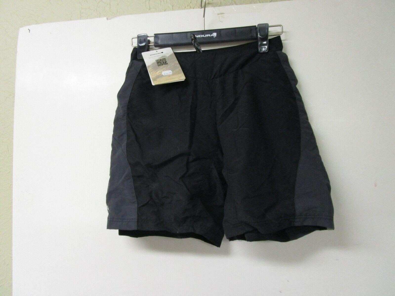 Endura para mujer Pulse XS Extra Pequeño  Bicicleta Ciclismo Shorts Negro -  nuevo con etiquetas   ¡no ser extrañado!