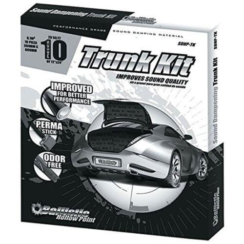 Ft. 20 Sq Ballistic SDHP-TK Sound Dampening  Trunk Kit